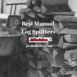best manual log splitters